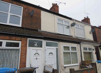 Thumbnail 2 bed terraced house to rent in Dorset St, Hull