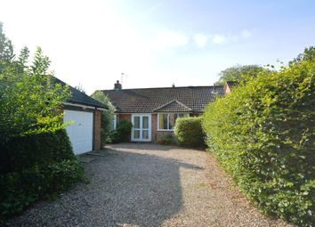 Thumbnail 2 bed detached bungalow for sale in Grove Lane, Holt, Norfolk