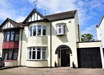 Thumbnail 5 bedroom semi-detached house for sale in Blenheim Crescent, Leigh-On-Sea