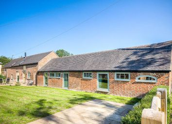 Thumbnail 4 bed barn conversion for sale in Catthorpe Road, Shawell, Lutterworth
