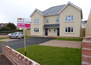 Thumbnail 3 bedroom semi-detached house for sale in Bircham Road, Minehead