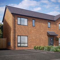 Thumbnail 3 bed semi-detached house for sale in The Thornley, Viennese Road, Belle Vale, Liverpool