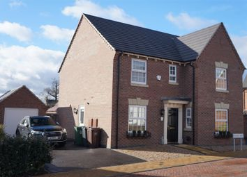 Thumbnail 4 bed detached house for sale in Graves Way, Anstey, Leicester