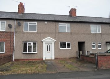 Thumbnail 3 bed terraced house to rent in Skellow Road, Skellow, Doncaster