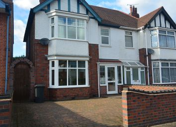 Thumbnail 3 bed semi-detached house to rent in Sybil Road, Leicester