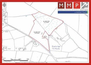 Thumbnail Farm for sale in Tyn Y Ffynon Land, Cefn Coch, Llanrhaeadr Ym Mochant, Powys