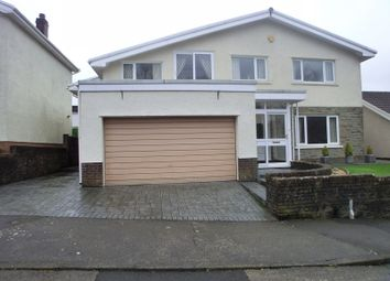 Thumbnail 5 bed detached house for sale in Waun Sterw, Pontardawe, Swansea.