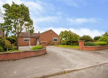 Thumbnail 4 bed detached bungalow for sale in Ridgeway Lane, Warsop, Mansfield