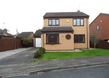 Thumbnail 3 bed detached house to rent in Churchill Rise, Burstwick, Hull