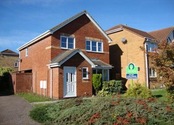 Thumbnail 3 bedroom detached house to rent in Belfry Close, Elstow, Bedford