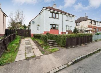 Thumbnail 2 bed semi-detached house for sale in Clapperhowe Road, Motherwell, North Lanarkshire