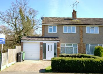 Thumbnail 3 bed semi-detached house for sale in Freemantle Road, Bagshot