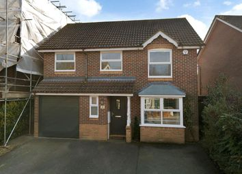 Thumbnail 4 bed detached house for sale in Chestnut Close, Kings Hill