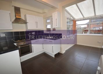 Thumbnail 2 bed terraced house to rent in Sandhurst Street, Oadby, Leicester, Leicestershire