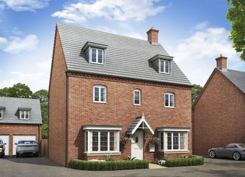 "Thumbnail 4 bed detached house for sale in ""The Regent "" at Lodge Road, Cranfield, Bedford"