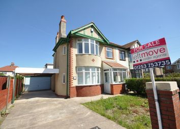 Thumbnail 3 bedroom semi-detached house for sale in St Andrews Avenue, Cleveleys, Blackpool, Lancashire
