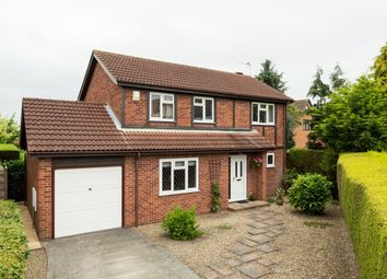 Thumbnail 4 bed detached house for sale in Beech Place, Strensall, York