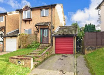 Thumbnail 3 bed detached house for sale in Hollingbourne Crescent, Tollgate Hill, Crawley, West Sussex