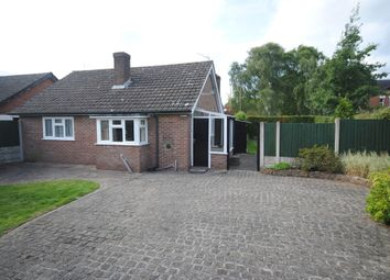 Thumbnail 2 bed detached bungalow to rent in Shrewsbury Road, Market Drayton
