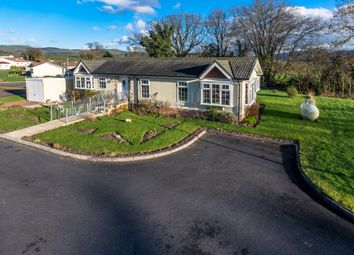 Thumbnail 2 bed mobile/park home for sale in The Green, Caerwnon Park, Builth Wells
