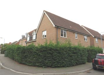 Thumbnail 4 bedroom detached house for sale in Coriander Road, Downham Market