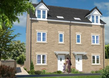 Thumbnail 3 bedroom town house for sale in Scholar's Park, Bourne Avenue, Darlington, County Durham