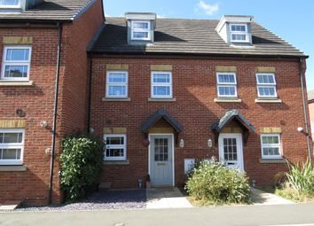 Thumbnail 3 bed town house for sale in Highfield Close, Brixworth, Northampton