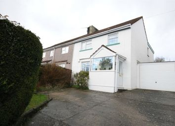 Thumbnail 4 bedroom semi-detached house for sale in Church Road, Wick, Bristol