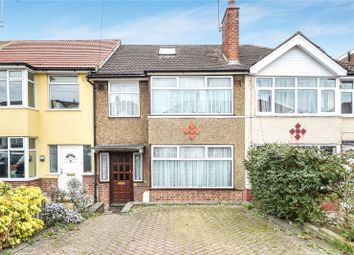 Thumbnail 4 bed terraced house for sale in Summit Road, Northolt, Middlesex