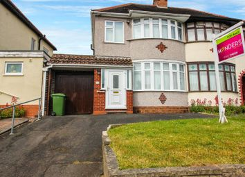 Thumbnail 3 bedroom semi-detached house for sale in Lynton Avenue, Tettenhall, Wolverhampton