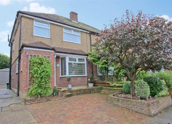 Thumbnail 3 bed semi-detached house for sale in The Furrows, Harefield