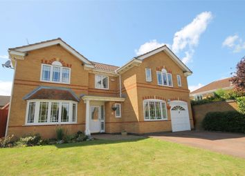 Thumbnail 5 bed detached house for sale in Highslade, Brixworth, Northampton