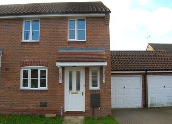 Thumbnail 3 bed semi-detached house to rent in Fuller Close, Rackheath, Norwich