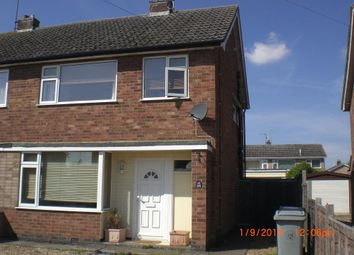 Thumbnail 3 bed semi-detached house to rent in Cromarty Road, Stamford