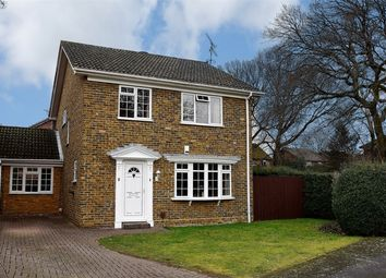 Thumbnail 4 bed detached house for sale in Heenan Close, Frimley Green, Camberley, Surrey