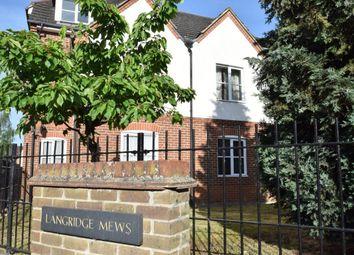 Thumbnail 1 bed flat to rent in Langridge Mews, Hampton