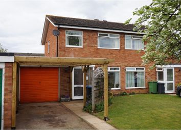Thumbnail 3 bed semi-detached house for sale in Wessons Road, Bidford On Avon
