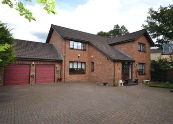 Thumbnail 4 bed detached house for sale in North Road, Cumbernauld