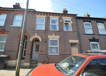 Thumbnail 4 bed terraced house for sale in Cowper Street, Luton