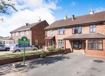 Thumbnail 3 bed semi-detached house for sale in Carisbrooke Road, Bushbury, Wolverhampton