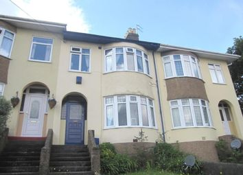 Thumbnail 3 bed terraced house to rent in North Road, Saltash, Cornwall