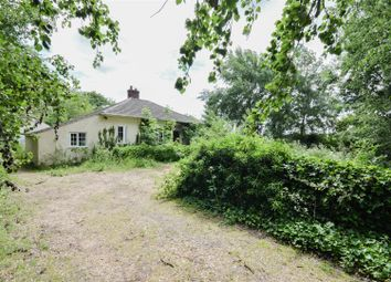 Thumbnail 3 bed detached bungalow for sale in Spalding Road, Crowland, Peterborough