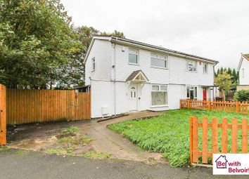 Thumbnail 3 bed semi-detached house for sale in Hawbush Road, Walsall