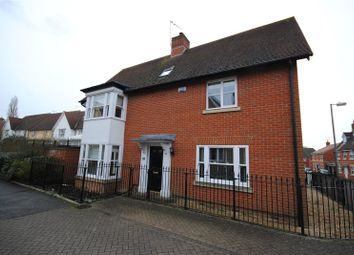 Thumbnail 4 bed detached house for sale in Castlefields, Great Leighs, Chelmsford, Essex