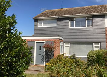 Thumbnail 3 bed semi-detached house for sale in Coast Road, Pevensey Bay