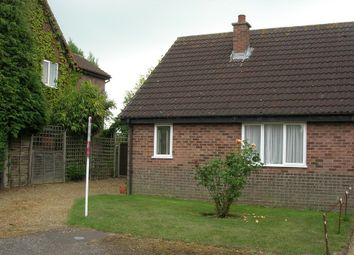 Thumbnail 1 bedroom semi-detached bungalow to rent in Greys Manor, Banham, Norwich, Norfolk