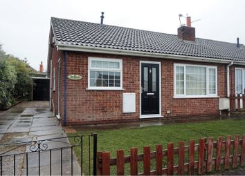 Thumbnail 2 bed semi-detached bungalow for sale in Mayfair Close, Doncaster