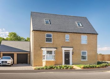 "Thumbnail 5 bed detached house for sale in ""Moorecroft"" at Great Hall Drive, Bury St. Edmunds"
