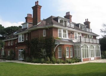 Thumbnail 3 bed flat to rent in West Overcliff Drive, Westbourne, Bournemouth
