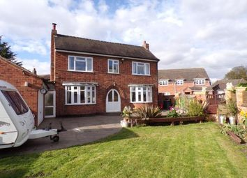 Thumbnail 4 bed detached house for sale in Washpit Lane, Barlestone, Leicestershire